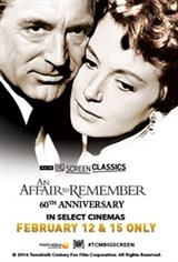 An Affair to Remember 60th Anniversary (1957) presented by TCM Movie Poster