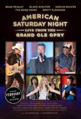 An American Saturday Night - Live From The Grand Ole Opry Movie Poster