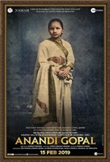 Anandi Gopal Affiche de film