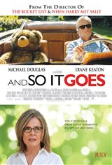 And So it Goes Movie Poster
