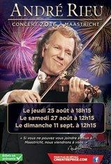 André Rieu : Concert 2016 à Maastricht Affiche de film