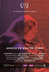 Angèle en quatre temps (v.o.f.) Affiche de film