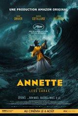 Annette (v.o.a.s-t.f.) Affiche de film