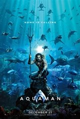 Aquaman: Fan Event 3D Movie Poster
