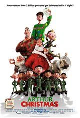 Arthur Christmas 3D Movie Poster