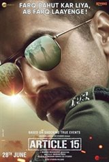 Article 15 (Hindi) Affiche de film