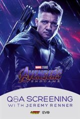 Avengers Endgame: Q&A Screening with Jeremy Renner Large Poster