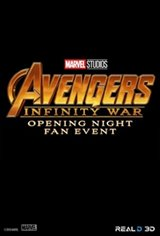 Avengers: Infinity War - Opening Night Fan Event Movie Poster