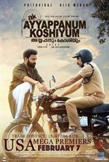 Ayyappanum Koshiyum Movie Poster