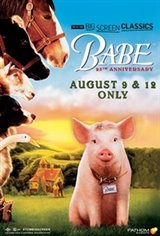 Babe (1995) 25th Anniversary presented by TCM Affiche de film