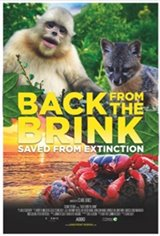 Back From the Brink: Saved From Extinction IMAX 3D Movie Poster