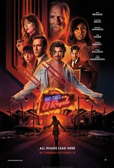 Bad Times at the El Royale Movie Poster Movie Poster