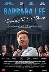 Barbara Lee: Speaking Truth to Power Movie Poster