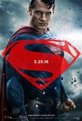 Batman v Superman: Dawn of Justice 3D Movie Poster