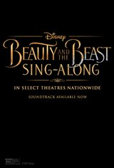 Beauty and the Beast Sing-Along Large Poster