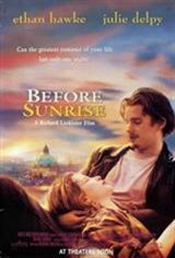 Before Sunrise Movie Poster Movie Poster