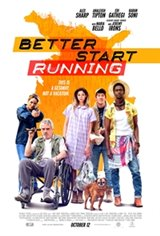 Better Start Running Large Poster