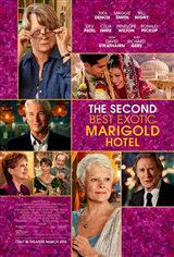 Bienvenue au Marigold Hotel 2 (v.o.a.s-t.f.) Affiche de film