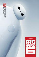 Big Hero 6 3D Movie Poster