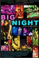 Big Night Movie Poster