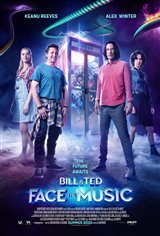 Bill et Ted font face à la musique Affiche de film