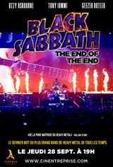 Black Sabbath : The End of The End Affiche de film