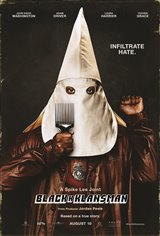 BlacKkKlansman Movie Poster Movie Poster