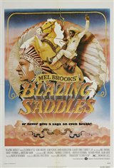 Blazing Saddles Large Poster