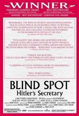 Blind Spot: Hitler's Secretary Movie Poster Movie Poster