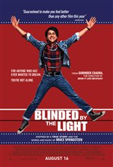 Blinded by the Light Movie Poster Movie Poster
