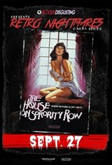 Bloody Disgusting Presents House On Sorority Row Affiche de film