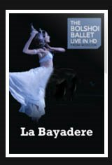 Bolshoi Ballet: La Bayadère Movie Poster