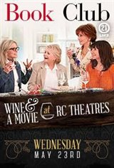 Book Club: Wine & A Movie Large Poster