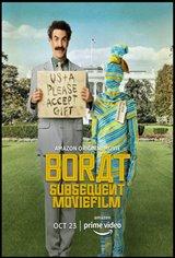 Borat Subsequent Moviefilm (Amazon Prime Video) Movie Poster