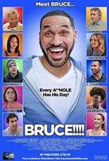 Bruce!!!! Affiche de film