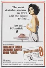 Butterfield 8 (1960) Movie Poster