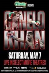 "Canelo Alvarez vs. Amir ""King"" Khan Movie Poster"