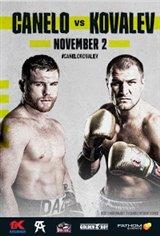 """Canelo Alvarez vs. Sergey """"Krusher"""" Kovalev Large Poster"""