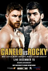 Canelo vs. Rocky Movie Poster