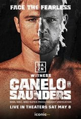 Canelo vs Saunders Large Poster