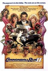 Cannonball Run II Movie Poster