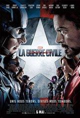 Capitaine America : La guerre civile Affiche de film