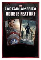 Captain America Double Feature 3D IMAX Movie Poster