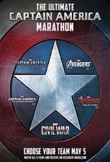 Captain America Marathon Movie Poster