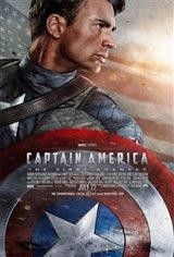 Captain America: The First Avenger 3D Movie Poster