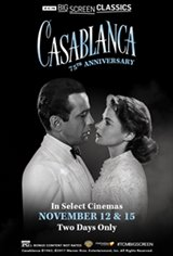 Casablanca 75th Anniversary (1942) presented by TCM Large Poster