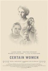 Certain Women Movie Poster