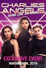 Charlie's Angels Hang Like An Angel Event Large Poster