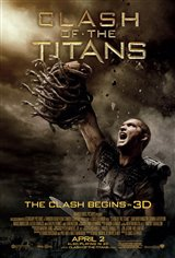 Clash of the Titans 3D Movie Poster