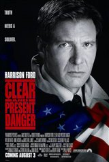 Clear and Present Danger Large Poster